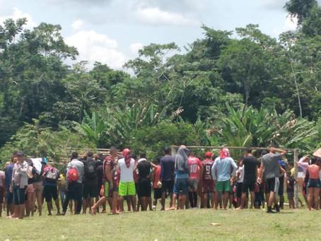 Prefeito Sebastião Correia apoia esportes na comunidade Fortaleza Paraná dos Mouras
