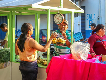 Feira da Agricultura Familiar volta a ser realizada no centro de Brasileia