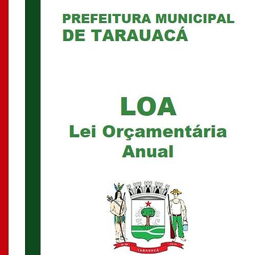 LOA 2016 (Lei nº 863 de 02/12/2015)