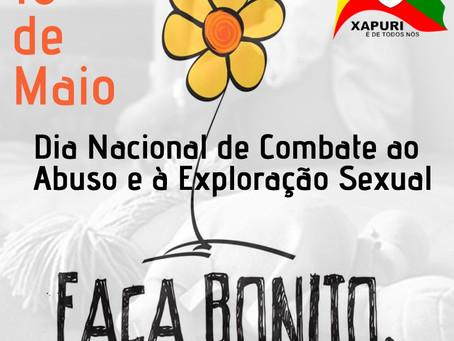18 de maio: Dia Nacional de Combate ao Abuso e à Exploração Sexual