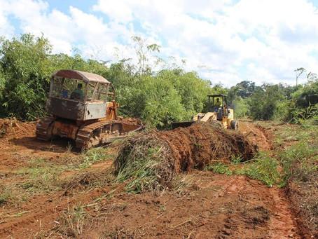 Prefeitura de Brasileia avança com os trabalhos no ramal do Km 84