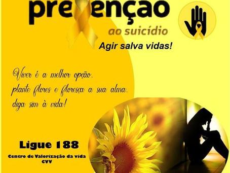 Setembro Amarelo, campanha brasileira de prevenção ao suicídio