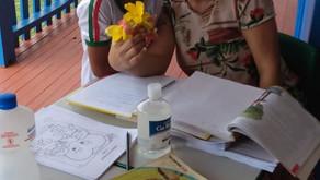 SEMED distribui kits de alimentação escolar na zona rural