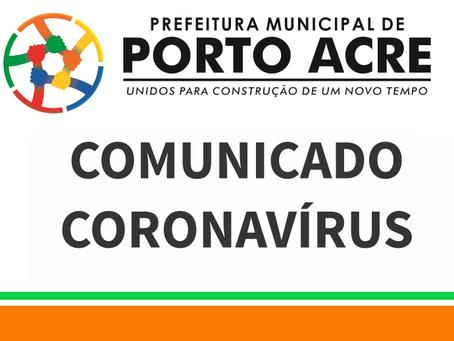 Comunicado: Medidas de enfrentamento ao CORONAVÍRUS