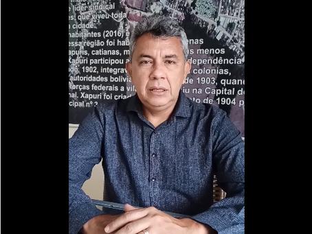 Prefeito Bira Vasconcelos paga 13º salário dos servidores xapurienses