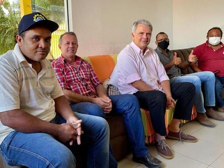 Prefeito reivindica investimentos na produção rural ao coordenador da Bancada Federal do Acre