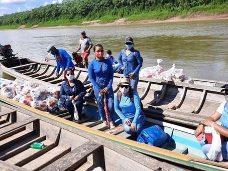 Prefeitura já entregou mais de 760 cestas alimentícias à família de Marechal Thaumaturgo