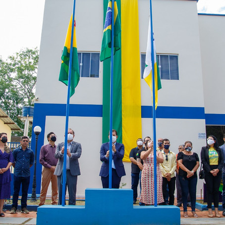 Prefeitura de Feijó realiza ato cívico em alusão o Dia 7 de Setembro