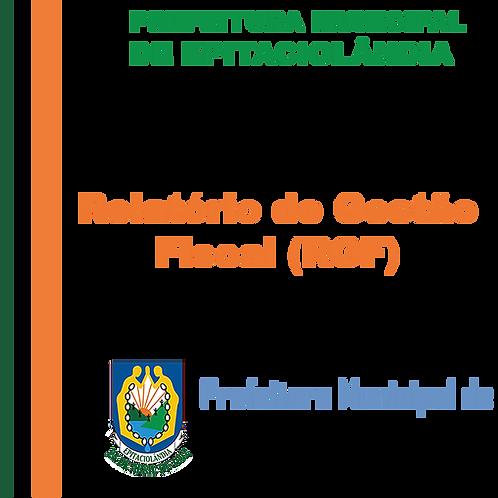 RGF de 2015 - 3° Quadrimestre