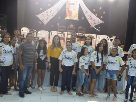 Prefeita Fernanda Hassem participa de encerramento de Escolinha de  Música em Brasiléia