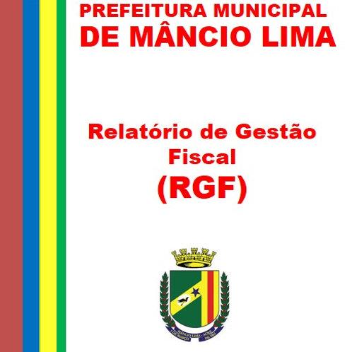 RGF 1º Quadrimestre 2020