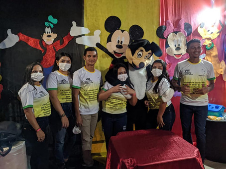 Prefeitura, junto a Secretaria de Assistência Social realiza atividade ao Dia das Crianças