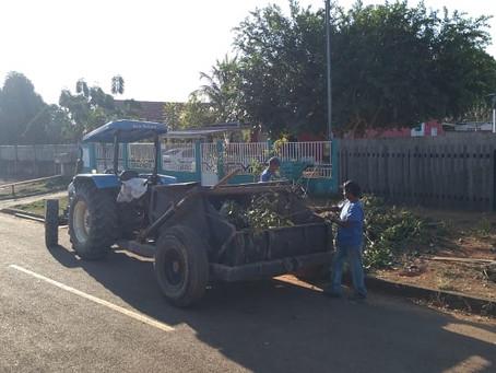 Ação de limpeza e conservação de Acrelândia em parceria com Deracre, alcança novas localidades