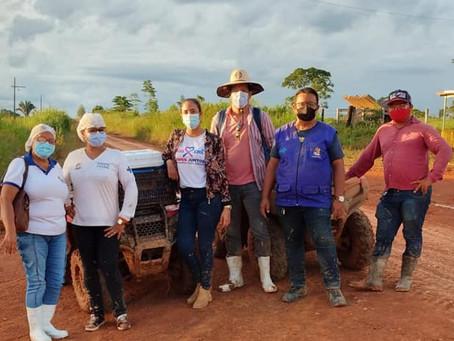 População idosa do projeto Tocantins recebe imunização contra covid-19