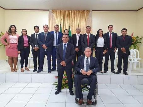 Jailson Amorim toma posse e inicia segundo mandato como prefeito de Rodrigues Alves