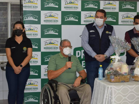 SEPA/AC e Prefeitura de Rodrigues Alves entregam alimentos do PAA a famílias vulneráveis