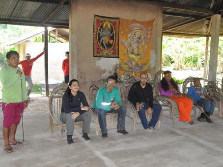 Indígenas da aldeia Altamira sãos os primeiros a receber o sistema de abastecimento de água potável