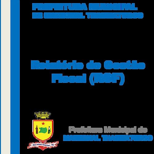 RGF de 2019 - 3° Quadrimestre