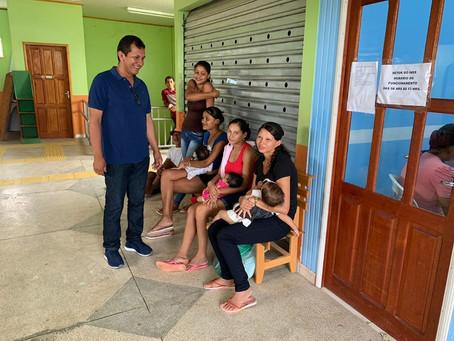 Prefeito Isaac Piyãko visita posto do INSS-Benfeitoria que garante direitos e cidadania