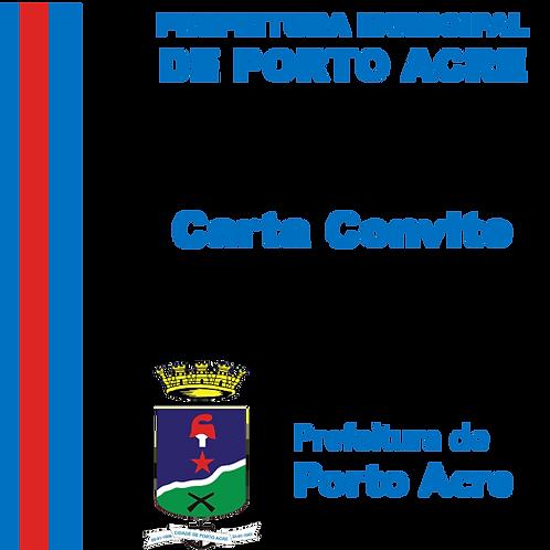 CC 003/2020 - Construção de Feira  Coberta