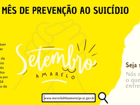 Campanha Setembro Amarelo