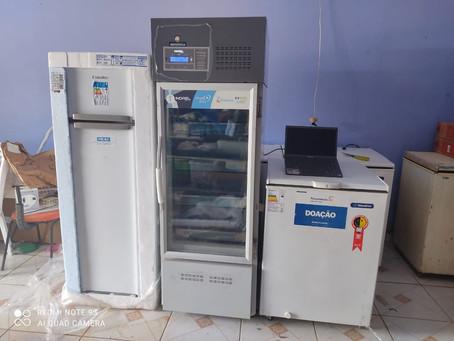 Em Jordão, Prefeitura e Energisa entregam equipamentos para reforçar a vacinação contra covid-19