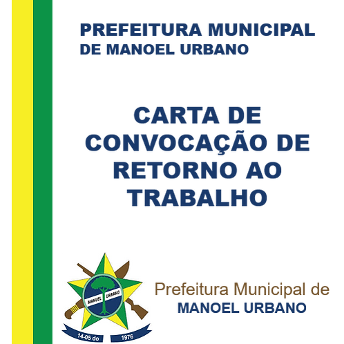 Carta de Convocação - Elza de Oliveira Sá