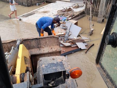 Prefeitura de Sena Madureira segue executando operação de limpeza nas vias do municipio