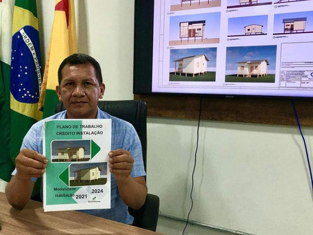 Marechal Thaumaturgo finaliza plano de trabalho do crédito instalação - modalidade habitação