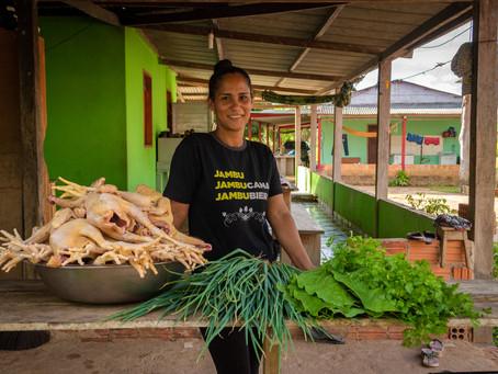 A força feminina na produção rural e no sustento familiar
