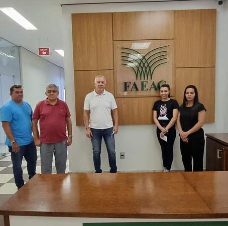 Prefeitura busca apoio da FAEAC para reestruturar o Sindicato Patronal Rural de Feijó