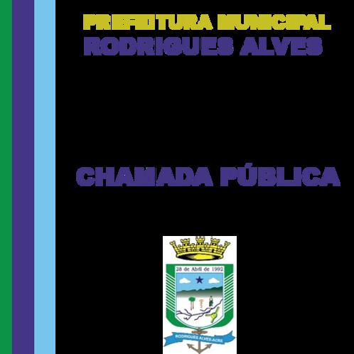 Chamada Pública n°01/2019 (Gêneros alimentícios - merenda escolar)