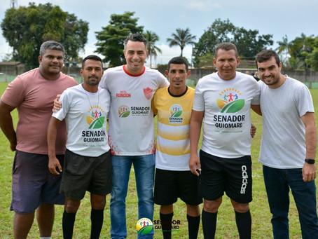 Prefeito André Maia prestigia a final da 2ª edição do campeonato Chizózão de Campo