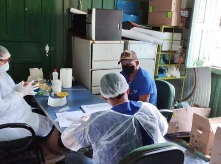Ações de saúde do trabalhador na Secretaria de Obras Públicas