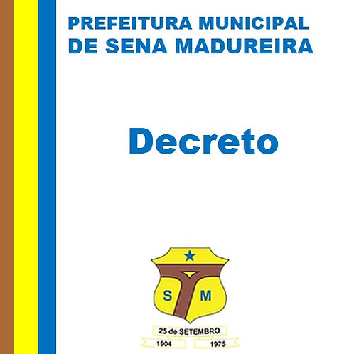 Decreto N° 044/2020 - Altera dispositivos do Decreto nº 041/2020