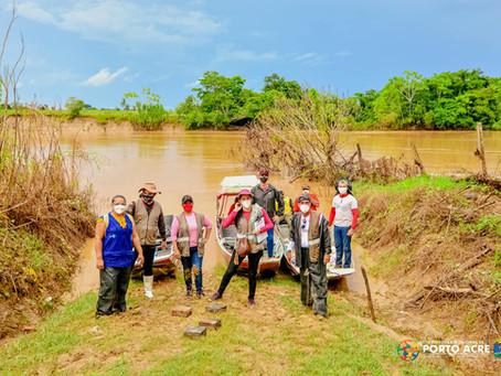 Prefeitura continua entregas de donativos as famílias ribeirinhas atingidas pela alagação