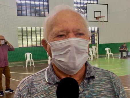 Prefeito Sebastião participa de medidas para  combater o avanço Coronavírus junto ao Governador