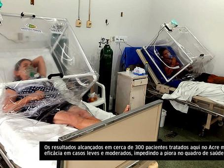 Projeto da UFAC salva vidas de pacientes com a Covid e pode virar tratamento contra a doença em todo