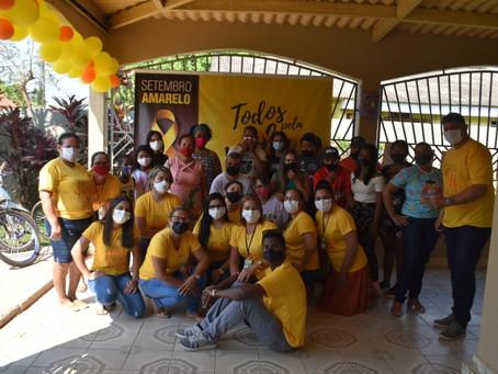 Prefeitura de Brasileia realiza encerramento da programação do Setembro Amarelo