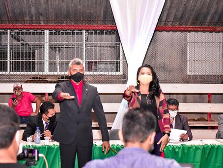 Bira Vasconcelos é empossado para segundo mandato consecutivo
