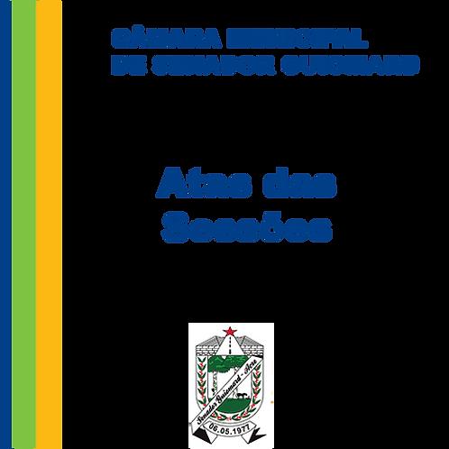 Ata da 3° Sessão Ordinária