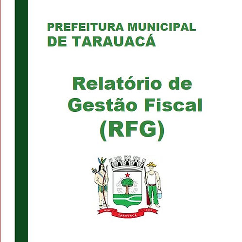 RGF - 2°Quadrimestre 2018