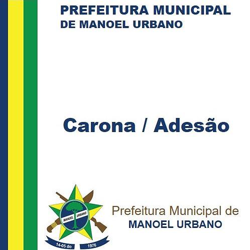 Carona/Adesão  060/2018 ( Serviços de Assessoria e Planejamento Financeiro)