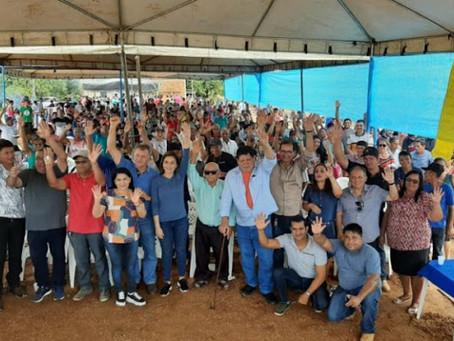 Prefeitura faz churrasco para comemorar asfalto em Manuel Urbano depois de 20 anos