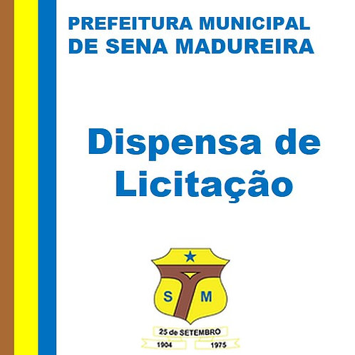 DL Nº 016/2020  Material de consumo e expediente