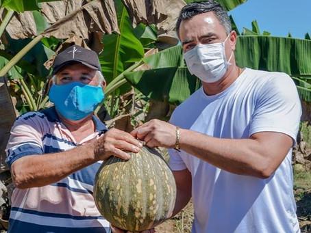 Maia visita agricultores e garante mais apoio ao setor