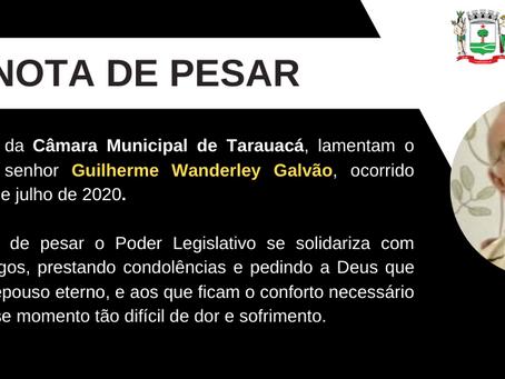 Tarauacá: Morre o ex-vereador Guilherme Galvão vítima de covid-19