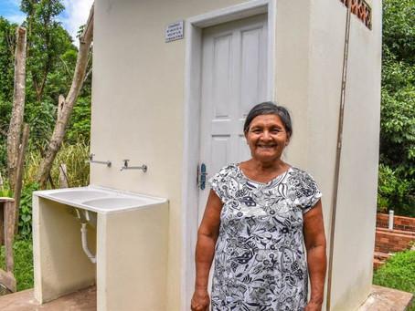 Brasileia é contemplada com convênios de Melhorias Sanitárias Domiciliares