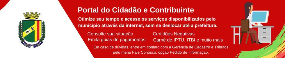 Portal do Cidadão e Contribuinte
