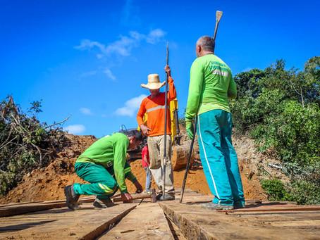 Com recursos próprios Prefeitura de Brasileia inicia o sonho dos moradores do Km 59